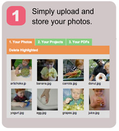 Simply upload and store your photos