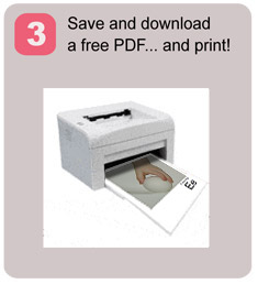 Save and download a free PDF ... and print!